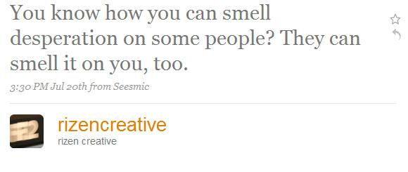 rizen creative - twitter