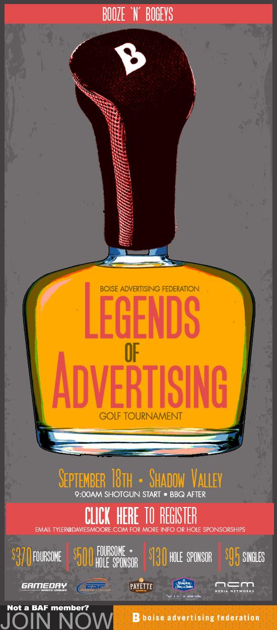 BAF Legends of Advertising Golf Tournament