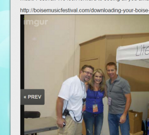 Brenda Mee, center & Kevin Mee, left. Via LiteOnline.com